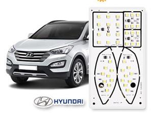 linfei Torschlitzmatten F/ür Hyundai Santa Fe 2013-2018 Ix45 Dm Innent/ür Pad Cup Staubmatten Water Coaster rutschfest